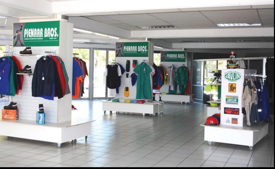 Pienaar Brothers retail outlet interior